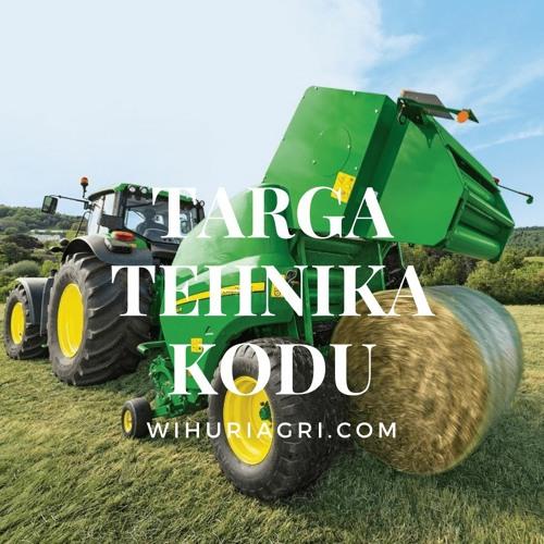 Taustaks pilt traktorist, esiplaanil podcasti nimi.
