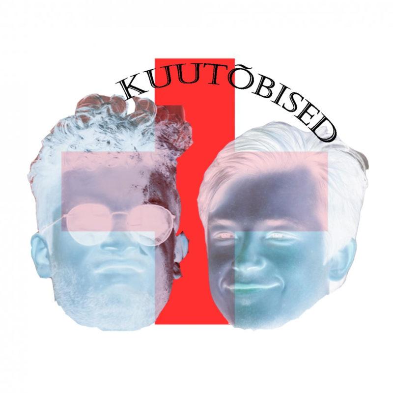 Abstraktne pilt podcasti esitajate nägudest ja podcasti nimi.