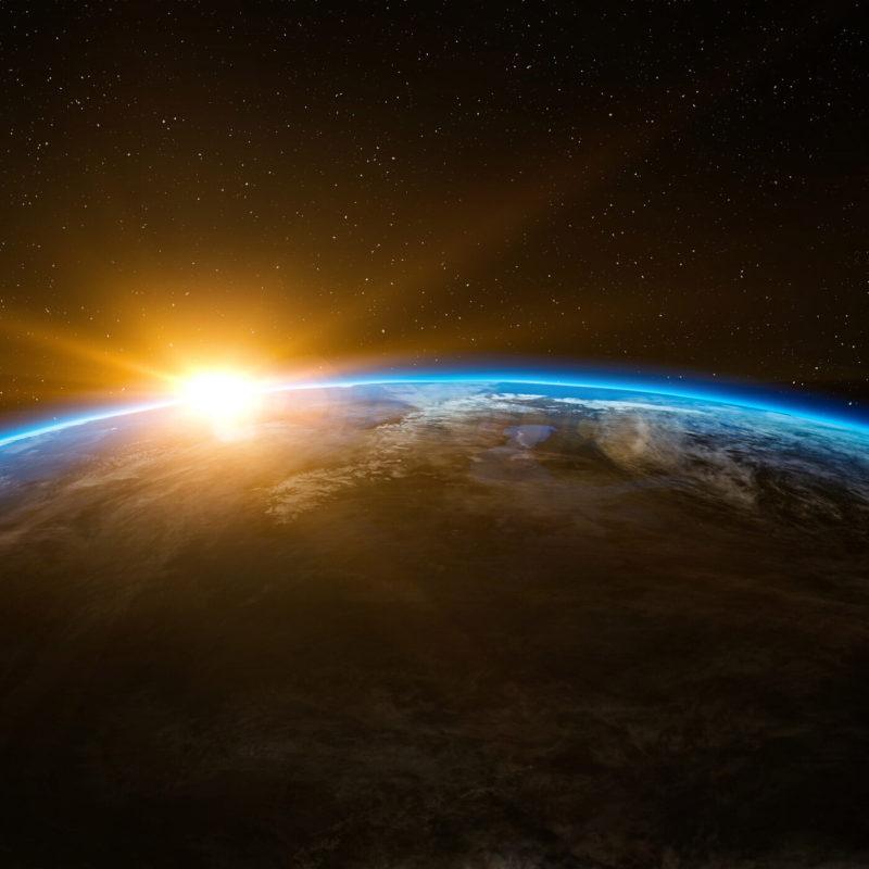 Pilt planeedist Maa.